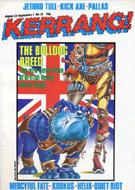 Kerrang Magazine August 23, 1984 Magazine
