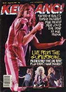 Kerrang Magazine August 26, 1989 Magazine