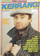 Kerrang Magazine February 23, 1984 Magazine