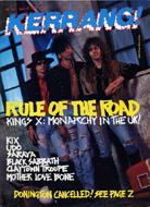 Kerrang Magazine June 17, 1989 Magazine