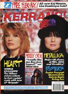 Kerrang Magazine March 17, 1990 Magazine