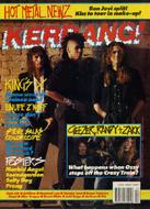 Kerrang Magazine March 31, 1990 Magazine