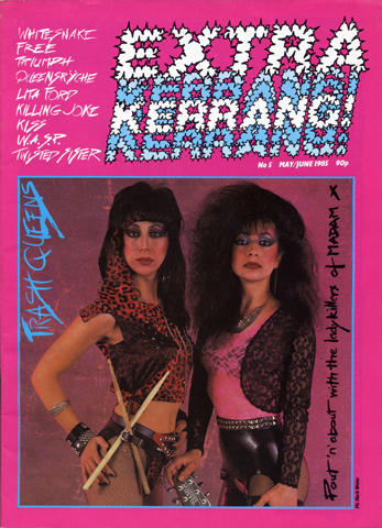 Kerrang Magazine May 1, 1985 Magazine