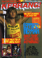 Kerrang Magazine October 8, 1988 Magazine