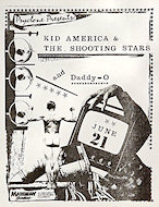 Kid America & the Shooting Stars Handbill