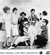 Kid Creole and the Coconuts Promo Print