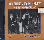 Kid Sheik & John Handy with Barry Martyn's Band CD