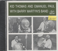 Kid Thomas and Emanuel Paul CD