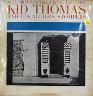 """Kid Thomas And The Algiers Stompers Vinyl 12"""" (Used)"""