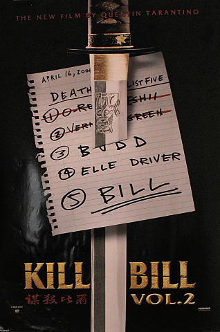 Kill Bill Vol. 2 Poster