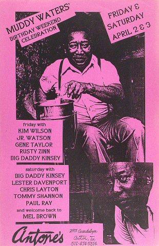Kim Wilson Poster