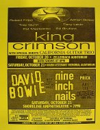 King Crimson Handbill