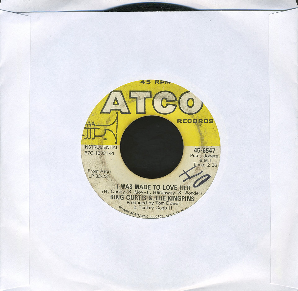 """King Curtis and the Kingpins Vinyl 7"""" (Used)"""