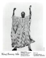 King Sammy Ade Promo Print