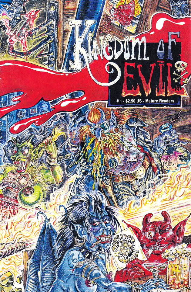 Kingdom of Evil #1 Comic Book