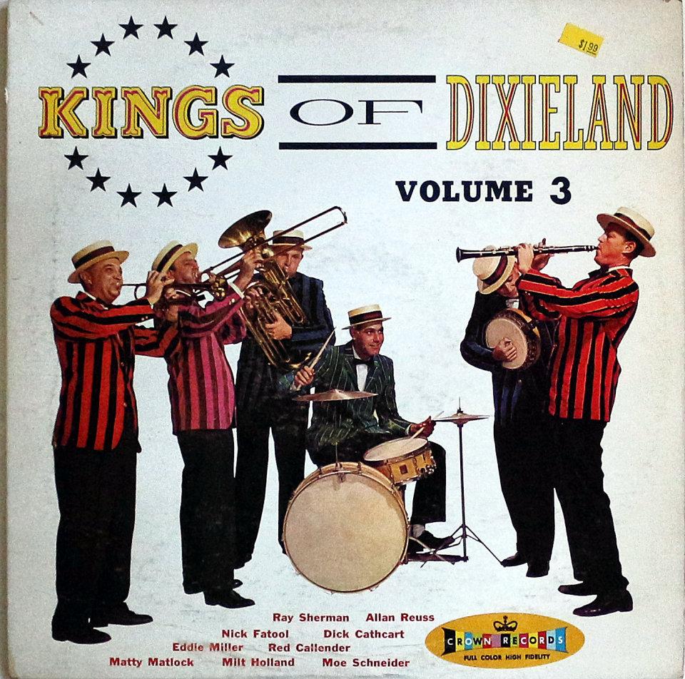 "Kings Of Dixieland Volume 3 Vinyl 12"" (Used)"