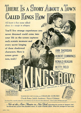 Kings Row Vintage Ad