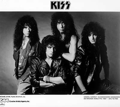Kiss Promo Print