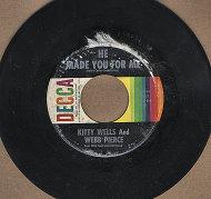 """Kitty Wells and Webb Pierce Vinyl 7"""" (Used)"""