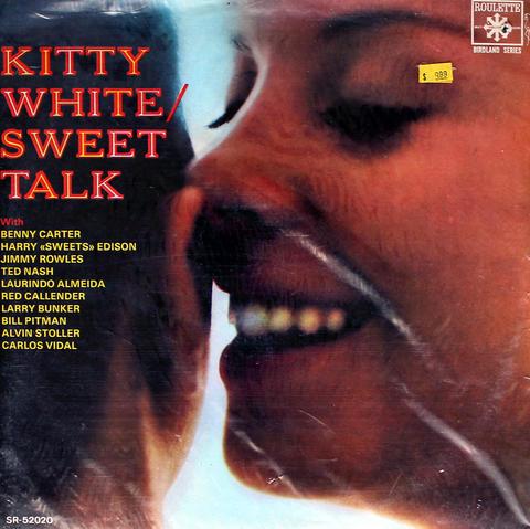 "Kitty White Vinyl 12"" (Used)"