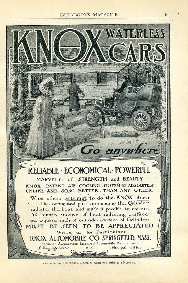 Knox Waterless Vintage Ad