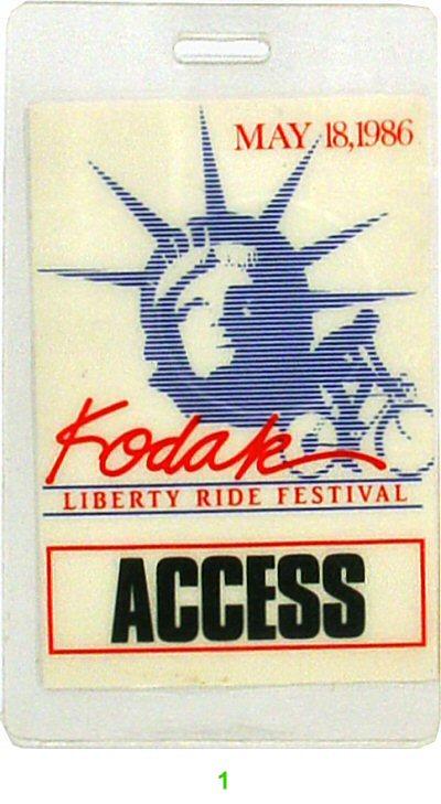 Kodak Liberty Ride Festival Laminate