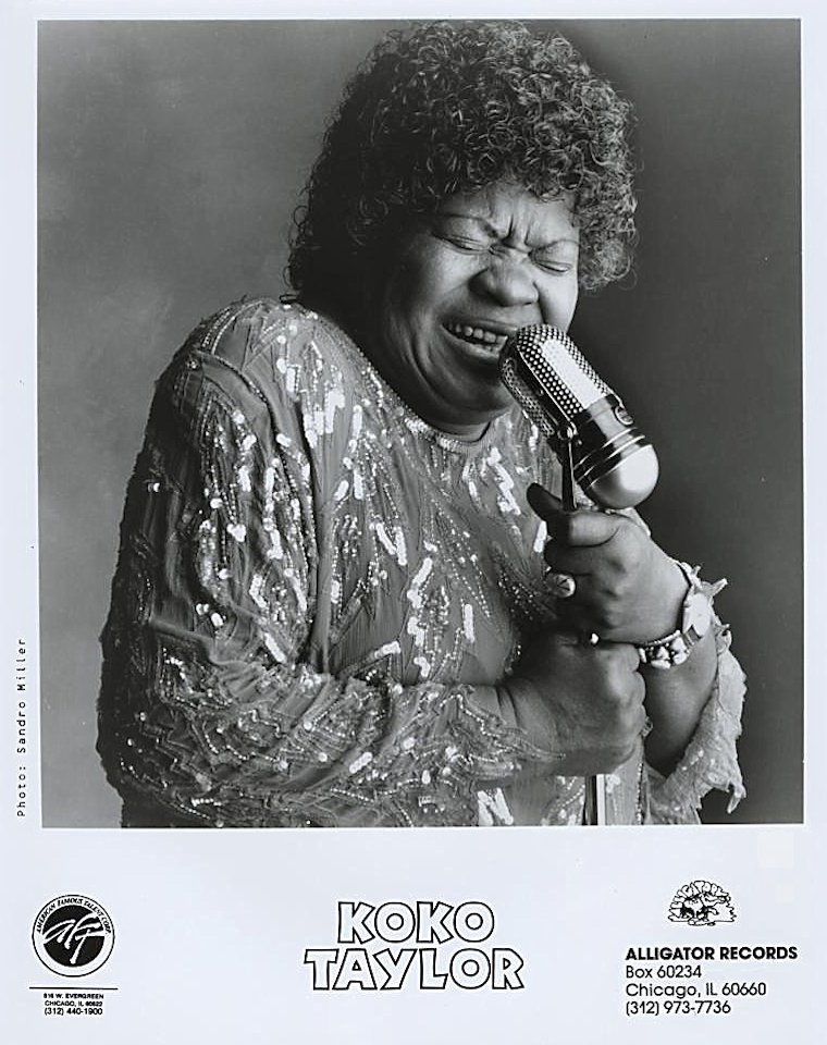 Koko Taylor Promo Print
