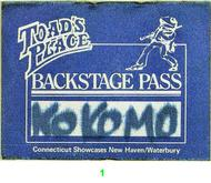 Kokomo Backstage Pass
