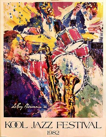 Kool Jazz Festival Poster