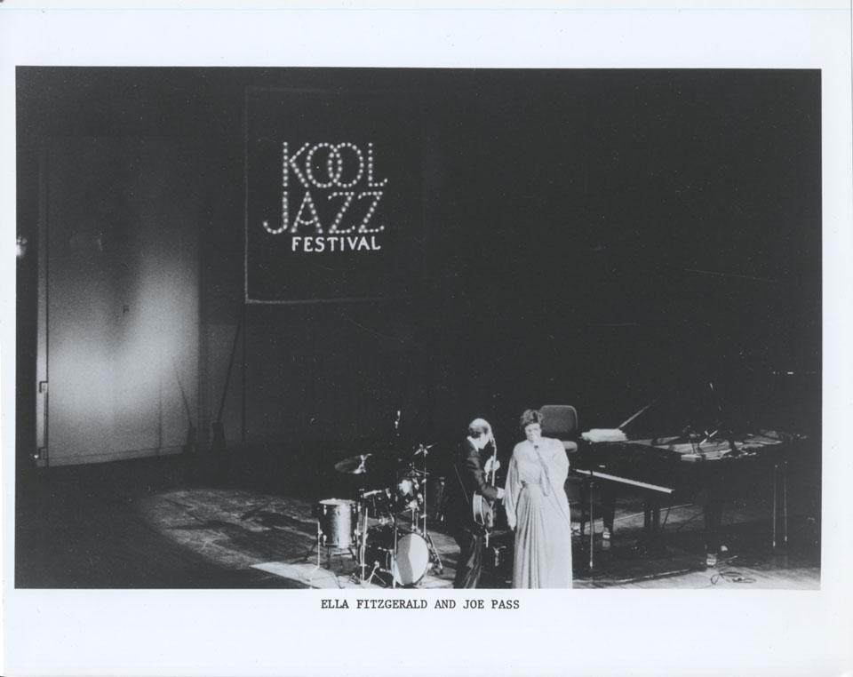 Kool Jazz Festival Vintage Print