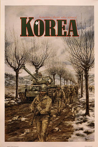 Korea...Honoring Those Who Served Poster
