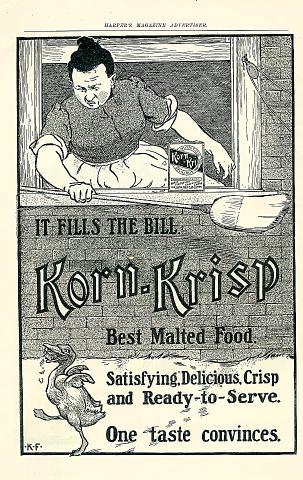 Korn-Krisp Vintage Ad