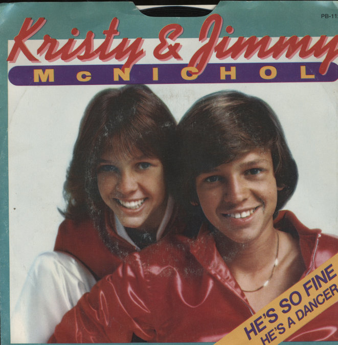 "Kristy and Jimmy McNichol Vinyl 7"" (Used)"