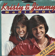 """Kristy and Jimmy McNichol Vinyl 7"""" (Used)"""