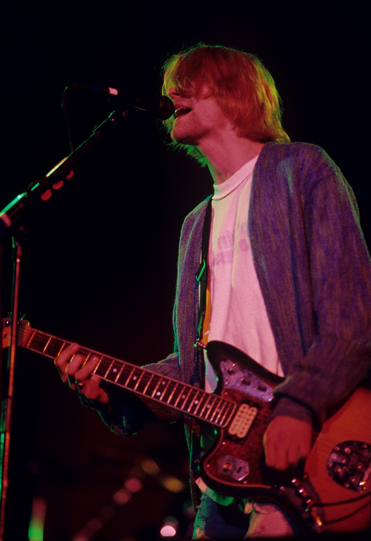 Kurt Cobain Fine Art Print