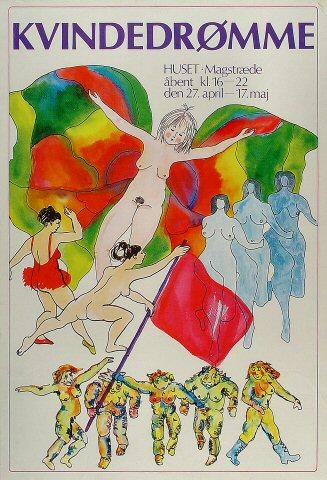 Kvindedromme Poster