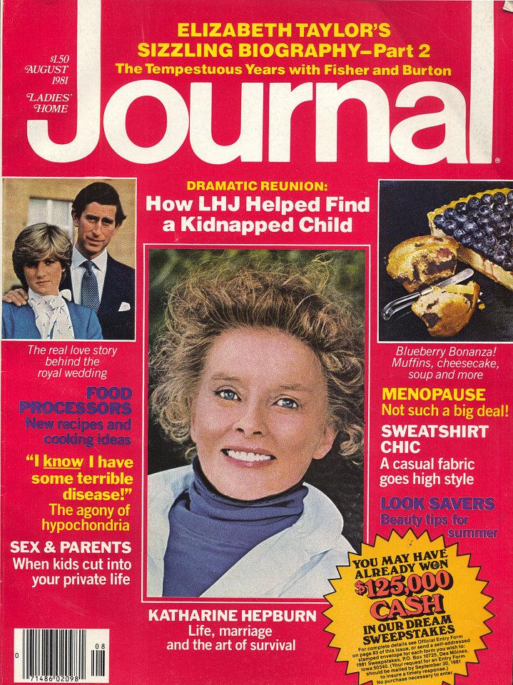 Ladies Home Journal Vol. XCVIII No. 8