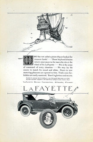 LaFayette Vintage Ad