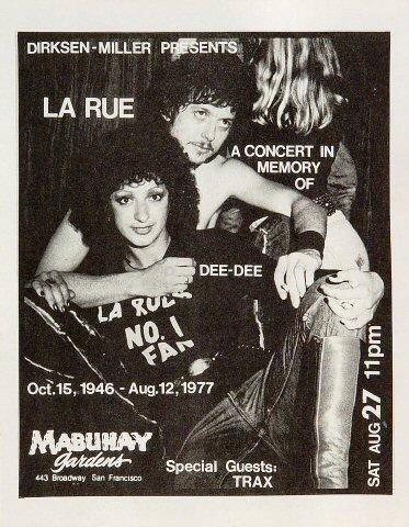 LaRue Handbill