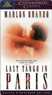 Last Tango in Paris VHS