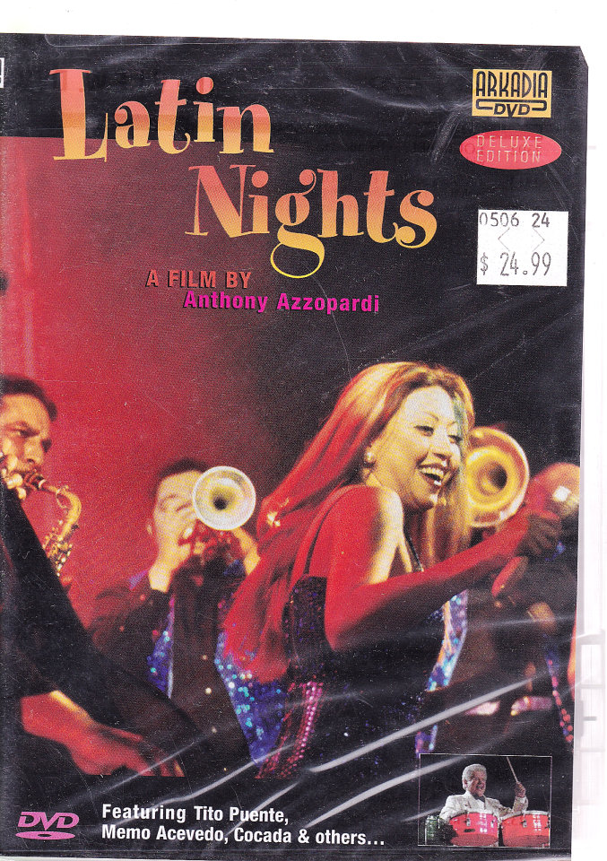 Latin Nights DVD
