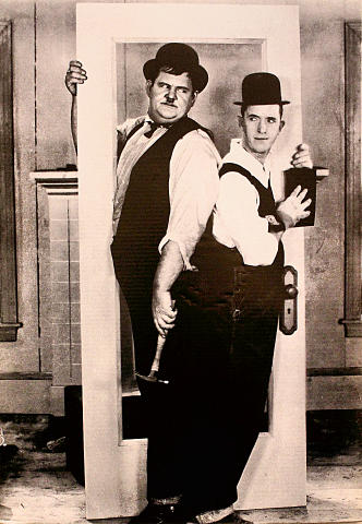 Laurel & Hardy Poster