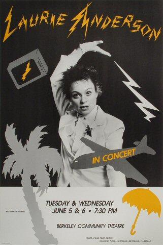 Laurie Anderson Poster