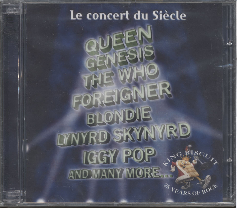 Le Concert Du Siecle 1973-1998: 25 Years of Rock CD