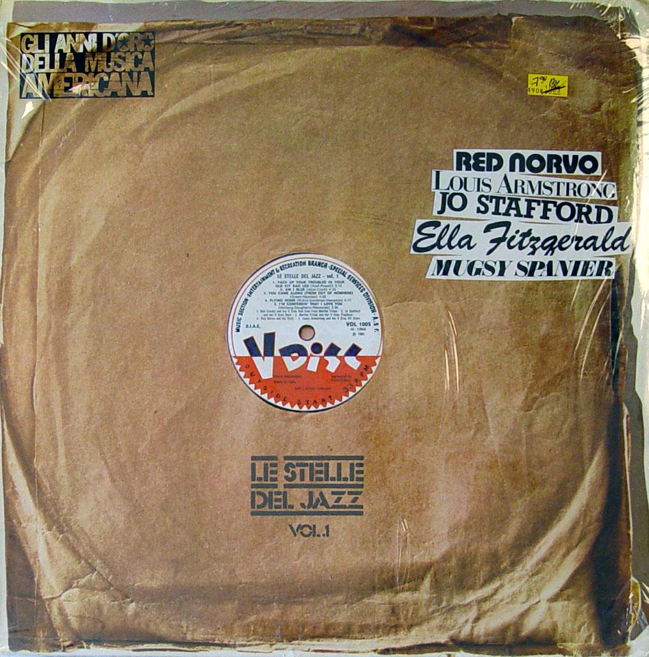 "Le Stelle Del Jazz: Vol. 2 Vinyl 12"" (New)"