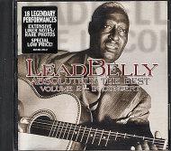 Lead Belly CD