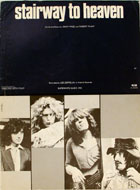Led Zeppelin Sheet Music Book