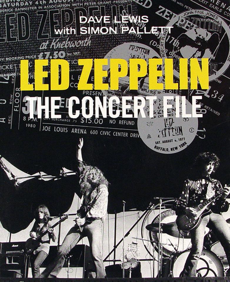 Led Zeppelin The Concert File