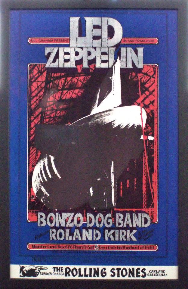 Led Zeppelin Framed Poster