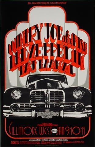 Led Zeppelin Handbill